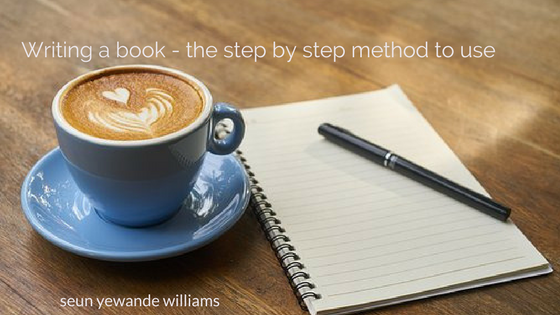 How to write a book – A simple step by step method part 1