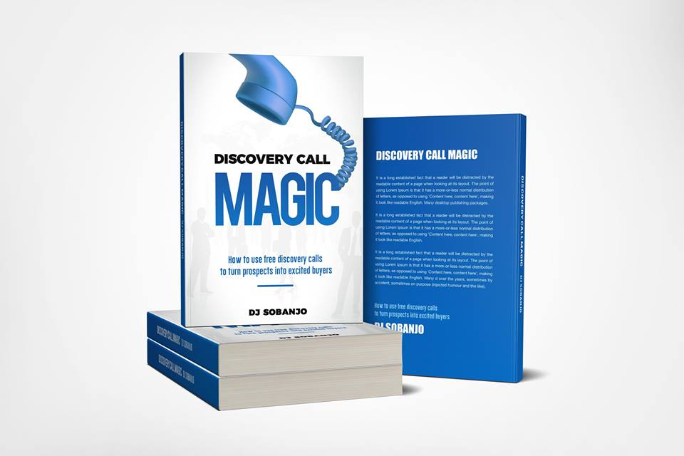 Book Review  – Discovery Call Magic by DJ Sobanjo